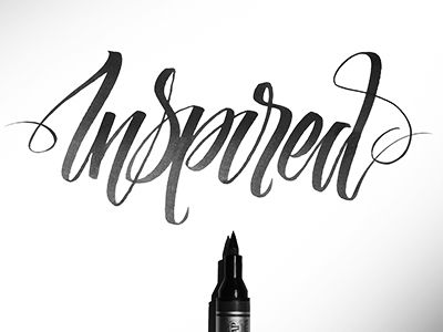 Hand Lettering Project // by Chad Patterson