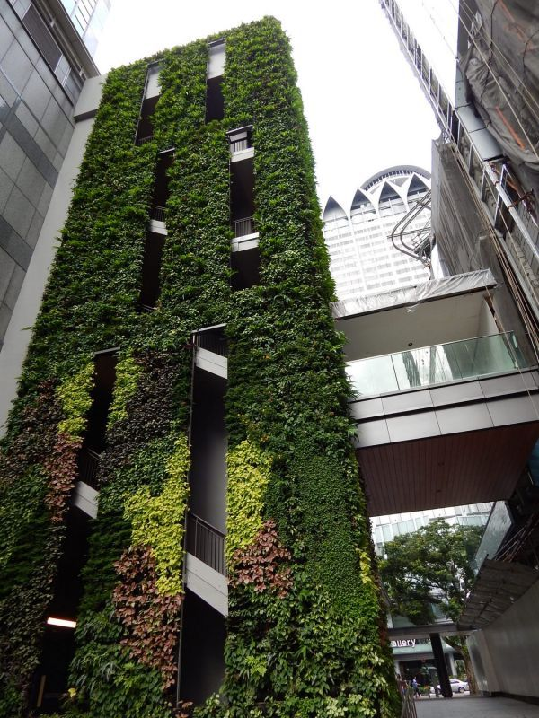 The Heeren Mall In Singapore By Kienta Verticalgarden