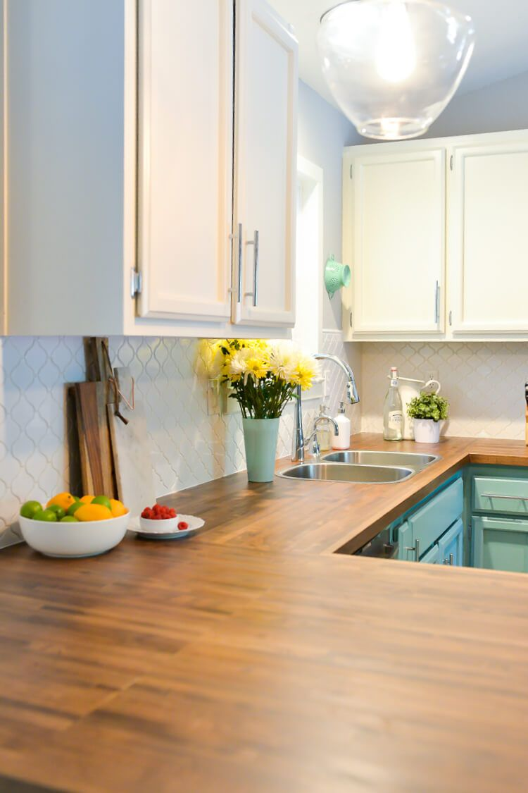 Fantastic Our Experience Installing Butcher Block Countertops Home Interior And Landscaping Ferensignezvosmurscom