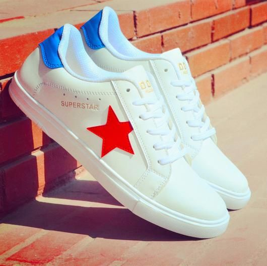 945d6abcd2fda Doc Martin Men White Superstar Sneakers. Premium materials and elegant  designs for superstars like you.