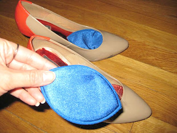 Repurpose Bra Padding As Shoe Inserts Could Also Use