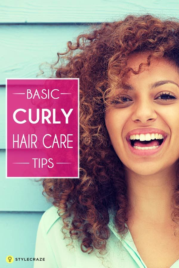 The Best Hair Care Tips For Curly Hair Con Imagenes