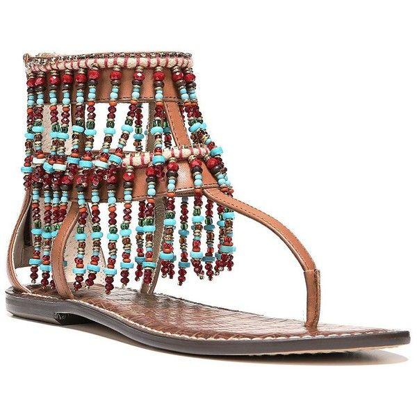 043fb75e5 Sam Edelman Gabriel Leather Thong Sandals featuring polyvore ...
