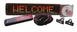 4x17 Indoor Bright 3 Color Scrolling LED Sign $149.99 (includes shipping and 1 year warranty) #scrolling #led #sign #programmable #signs