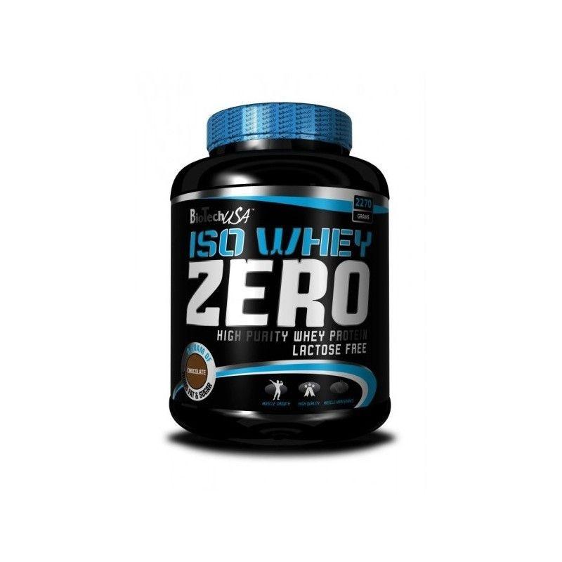Iso Whey Zero De Biotech Usa Es El Aislado De Suero De Proteinas