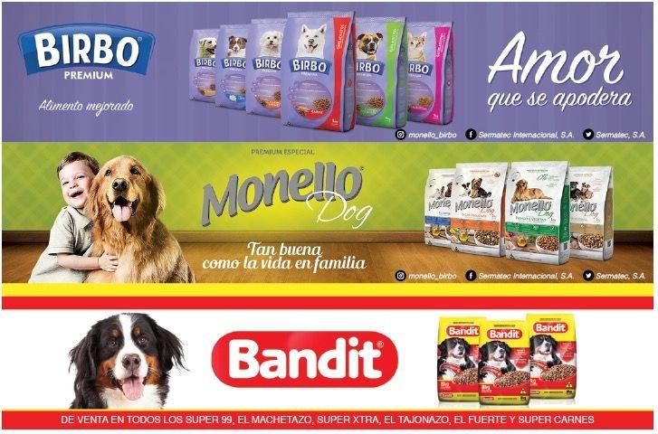 Monello Birbo Y Bandit Alimento De Calidad Para Perros Y Gatos
