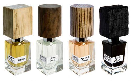 Perfume wood tops.