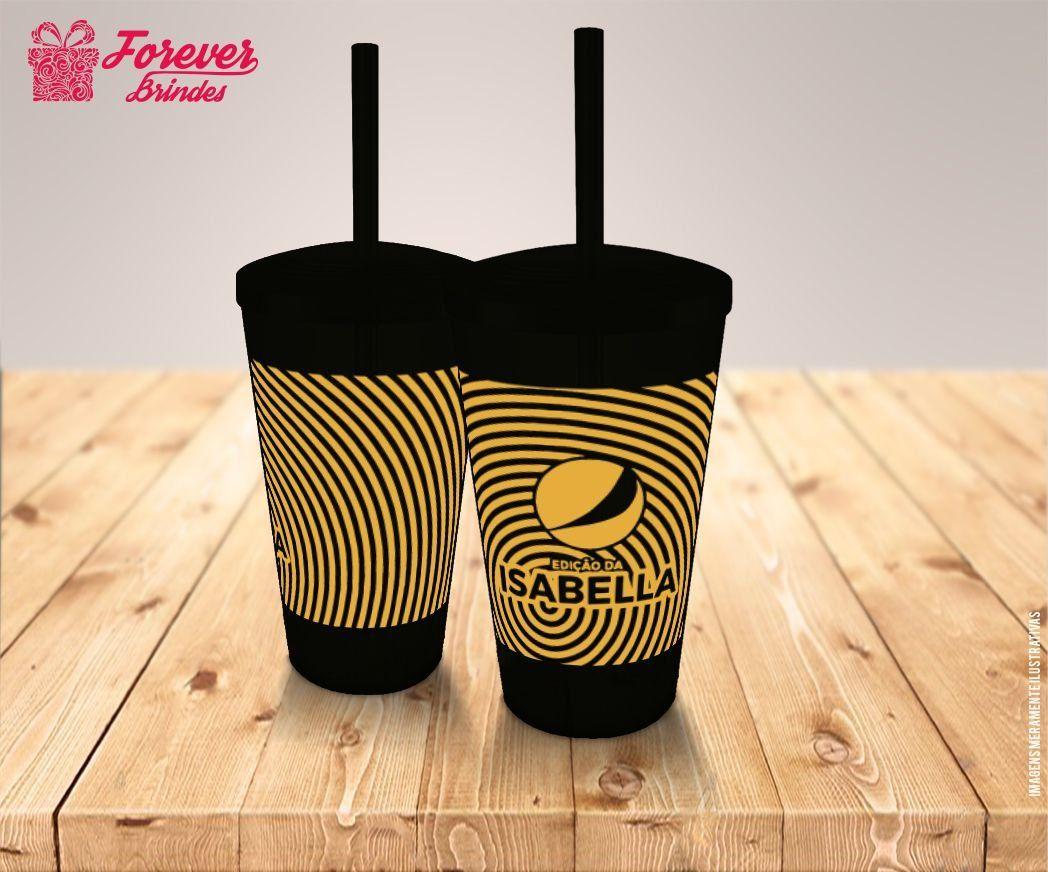 Copo Twister Com Logo De Empresa, Impressão em serigrafia