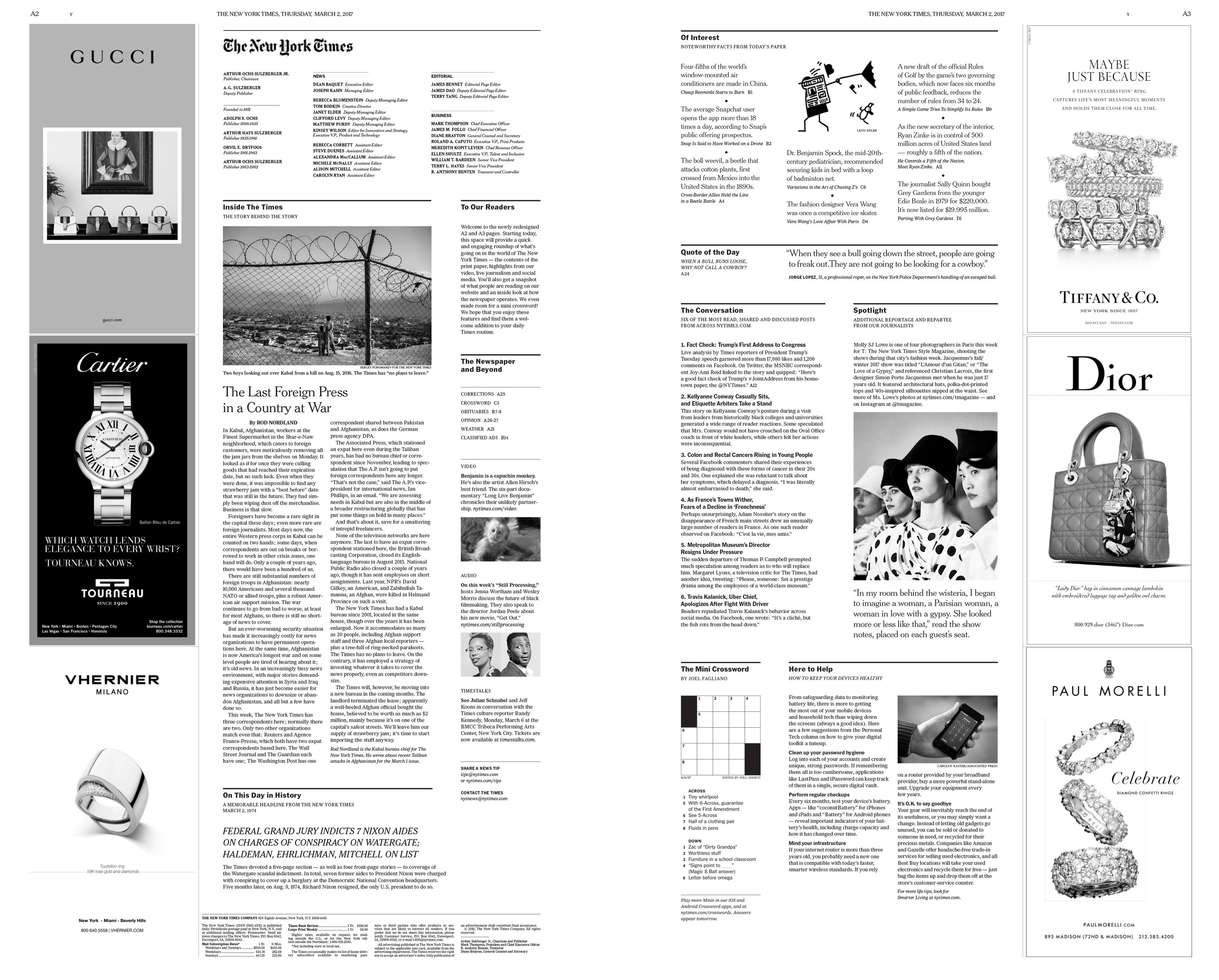The NYT's New Look Is A Masterpiece Of Information Design