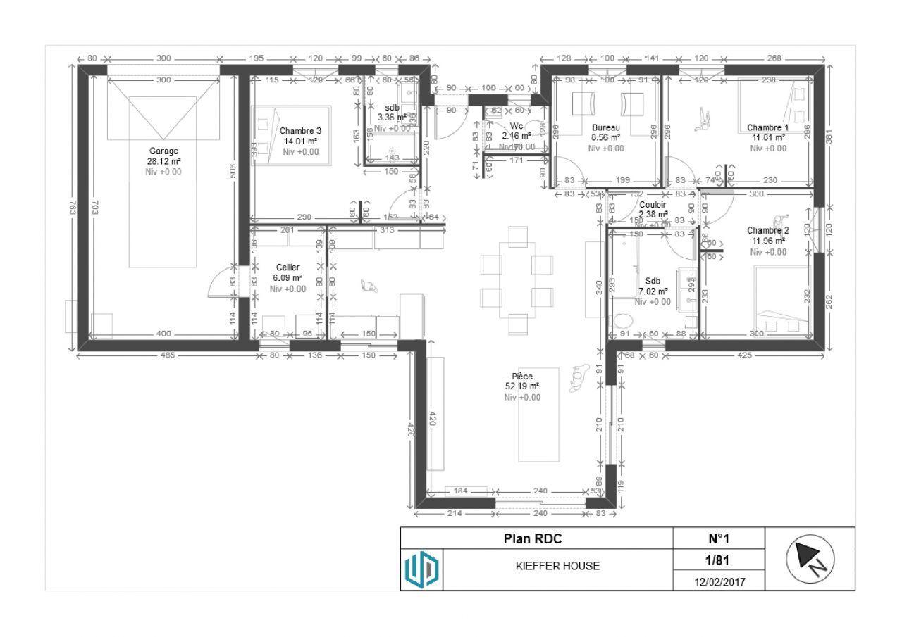Plan Maison Plain Pied Avec Toit Terrasse Ooreka 15