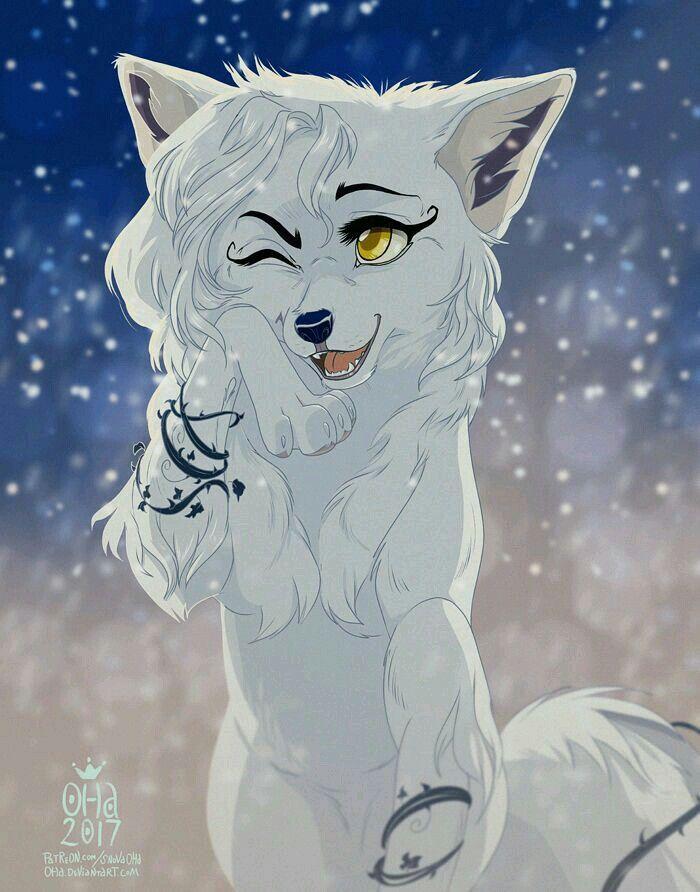 Картинка волки аниме