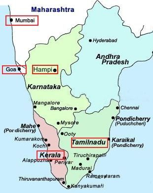 south india map with tourist places Cheap Tours To India Pride To Visit To Legend Indian Tourist Places south india map with tourist places