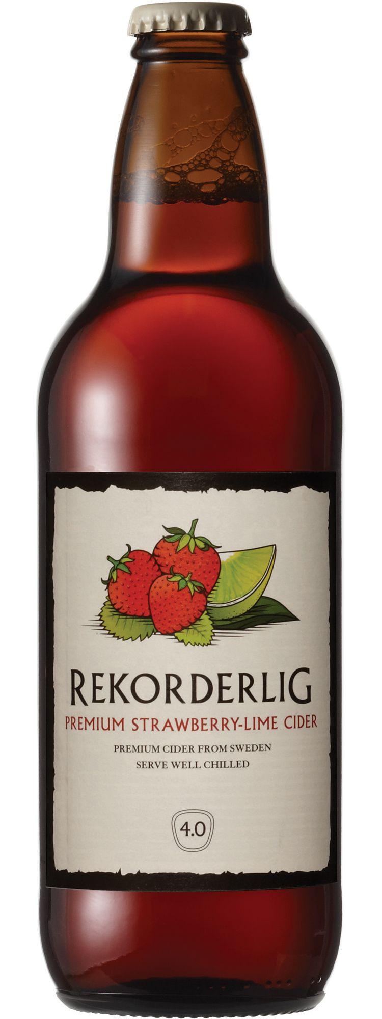 Rekorderlig Premium Strawberry Lime Cider 500ml Soooooo Good Strawberry Lime Strawberry Cider Cider