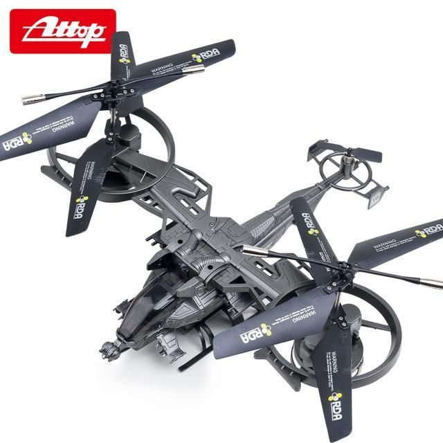 AttopYD 711 4 Channel Big RC Drone Aircraft Large Model Remote Control Helicopter Quadcopter Avatar