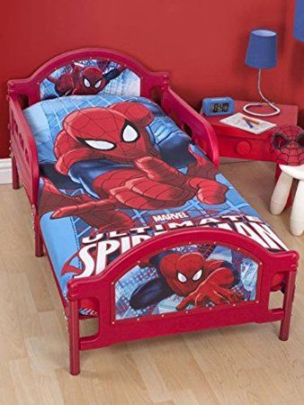 Image Result For Spiderman Bed Set Toddler Bed Boy Toddler