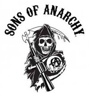 sons of anarchy series review the reaper logo tv movies rh pinterest com au Sons of Anarchy Logo Stencil Grim Reaper Logo