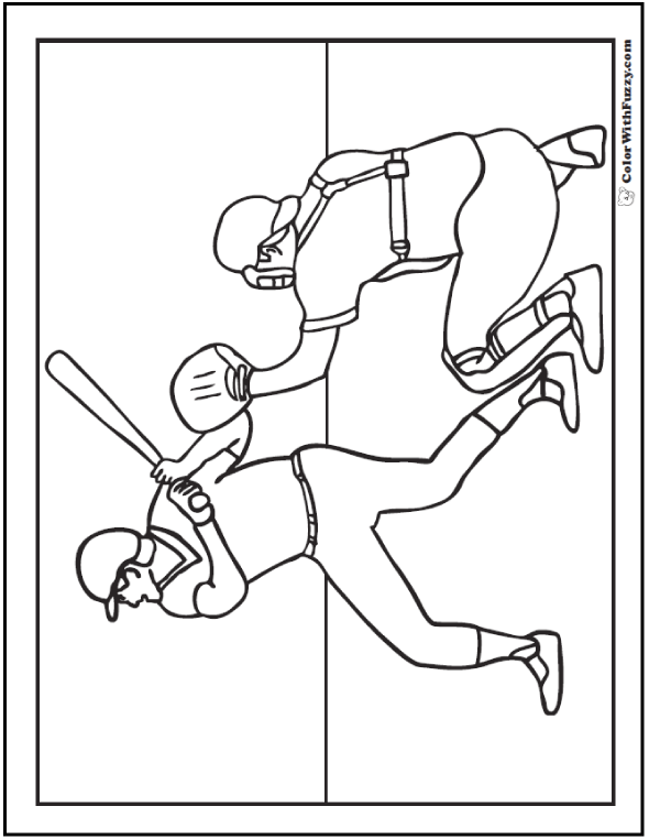 Baseball Coloring Pages Customize And Print Pdfs Baseball Coloring Pages Coloring Pages Color