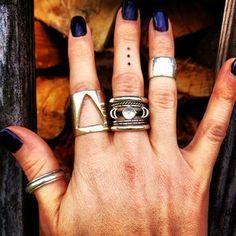 Three Dots Tattoo Hand Mid Finger Rings Dot Tattoos Three Dots Tattoo Meaning