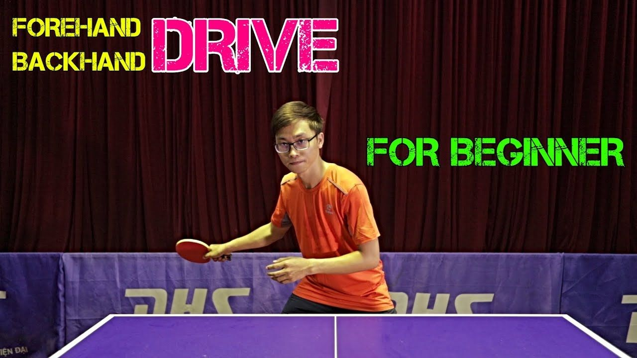 Learning Forehand Drive Backhand Drive Best Tip Mlfm Table Tennis Tutorial Youtube In 2020 Table Tennis Tennis Ping Pong Table Diy