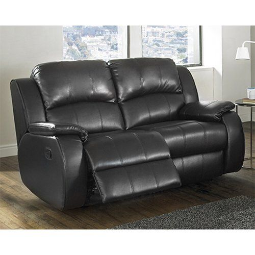 Leather 2 Seater Reclining Sofa