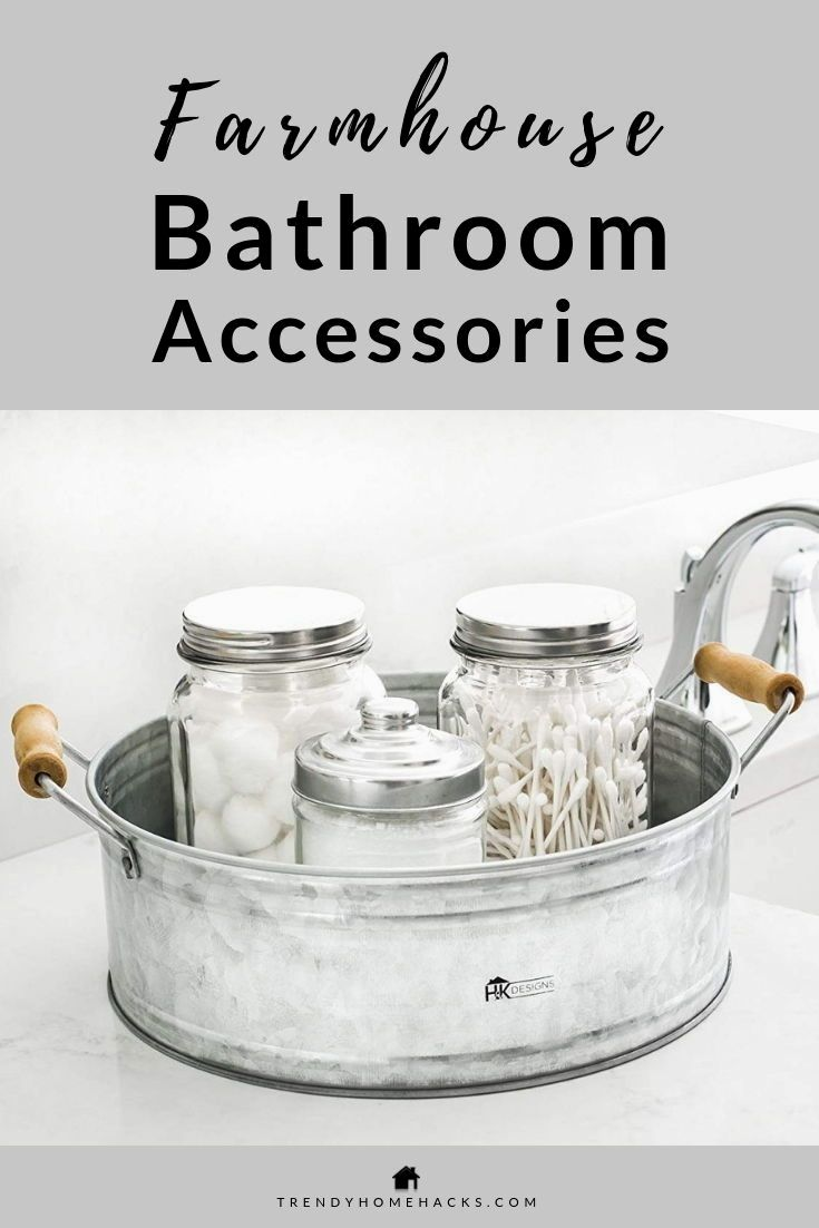 Photo of Best Bathroom Accessories that will quickly uplift your Farmhouse Look