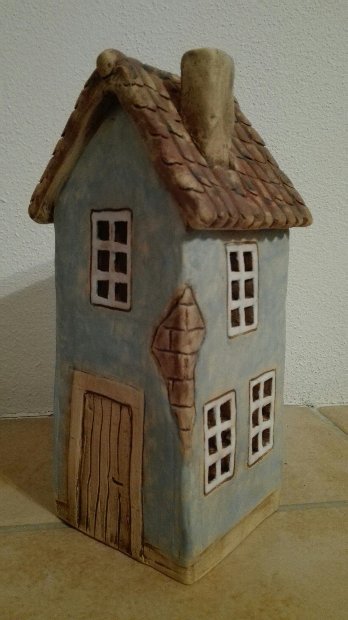 Domeček #slabpottery