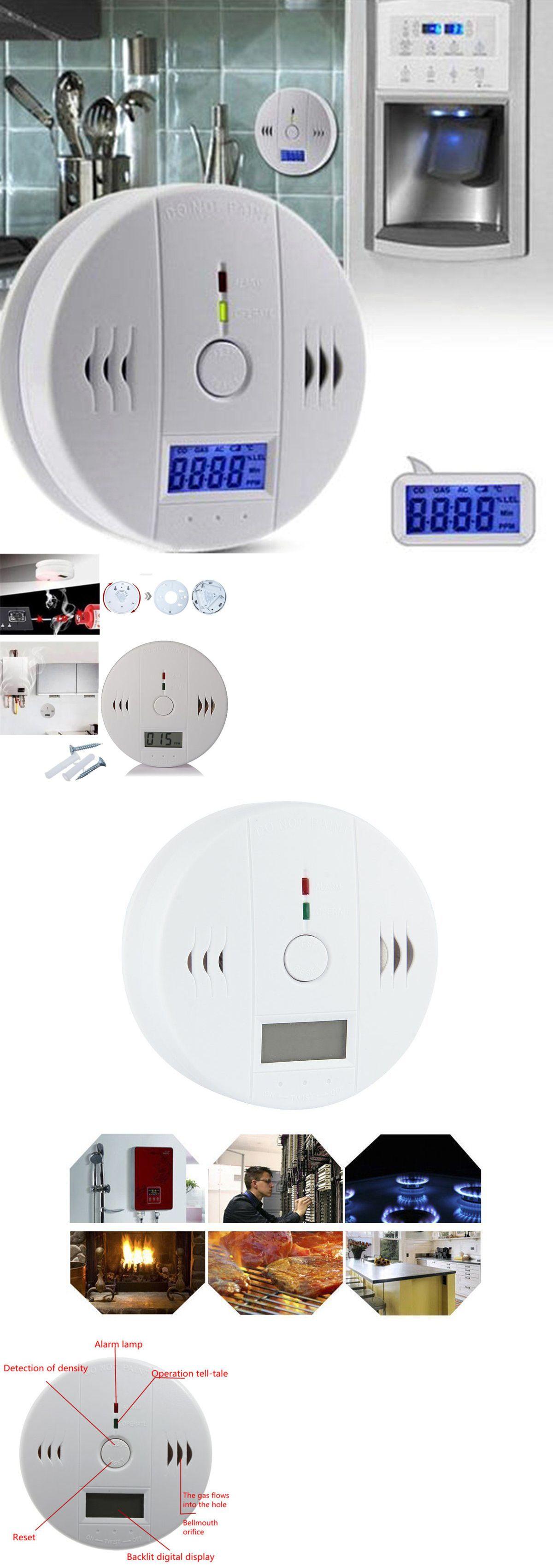 Carbon Monoxide Detectors 115943 Lcd Co Carbon Monoxide Tester Poisoning Gas Sensor Warning Alarm Detector Buy It Now Only With Images Detector Carbon Monoxide Carbon