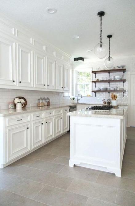 kitchen white tiles style 59 ideas for 2019  best