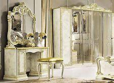 Italienisches Schlafzimmer ~ Luxus schlafzimmer set leonardo beige gold glanz stilmöbel aus