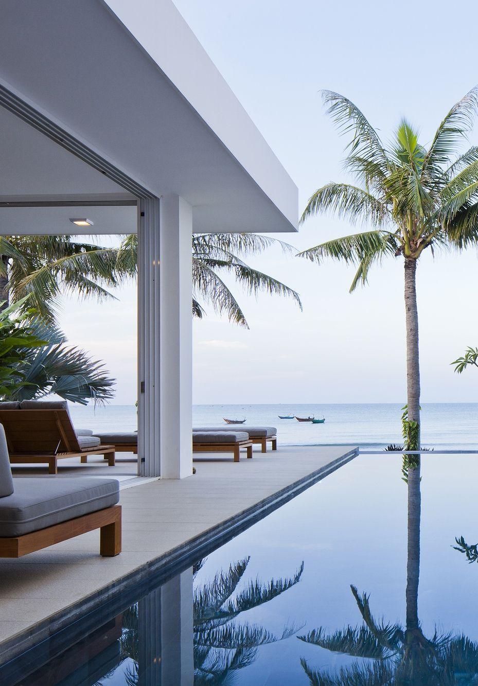 World of Architecture: Stunning modern beach house in Vietnam ...