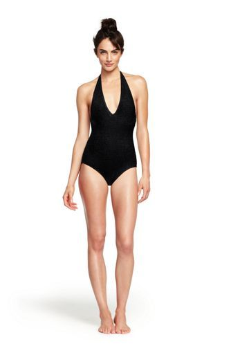 fe0a4fa014ac8 Women's+Smocked+One+Piece+Swimsuit+from+Lands'+End | Get Styled ...
