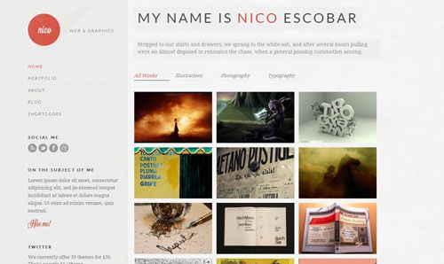 Free Nico Wordpress Theme ver 1.1  - http://wordpressthemes.im/free-nico-wordpress-theme-ver-1-1/