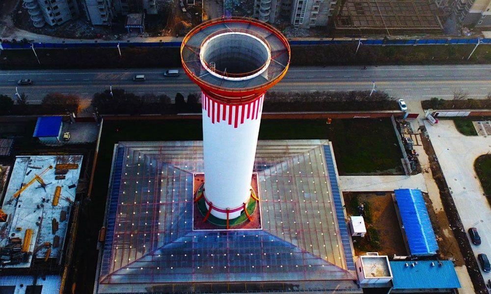 Pollutionbusting tower a world first Popular Mechanics
