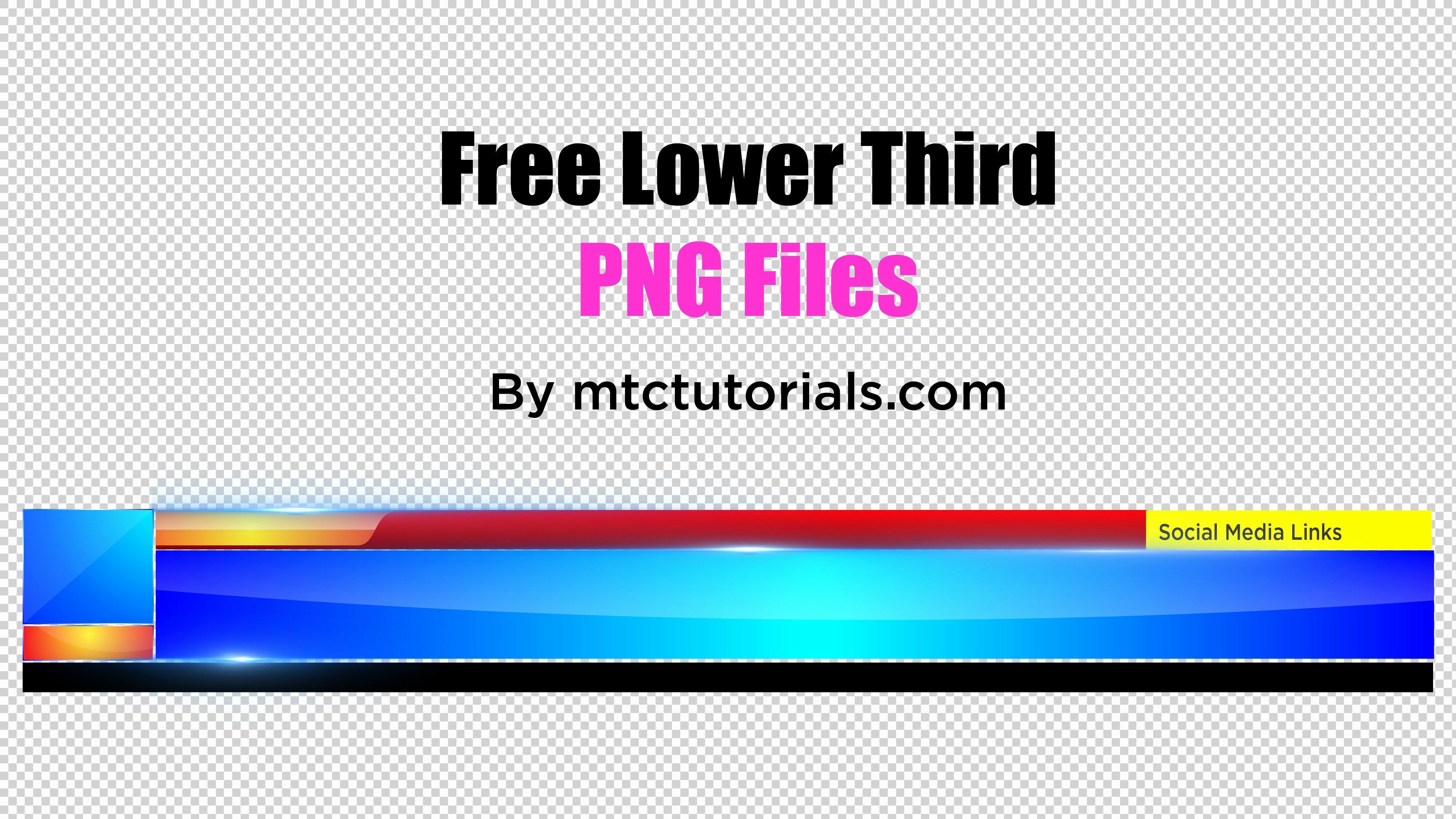 Free Lower Third Templates Photoshop Inspirational Royalty Free Professional Lower Third S Png Fr Lower Thirds Adobe Illustrator Templates Illustrator Template
