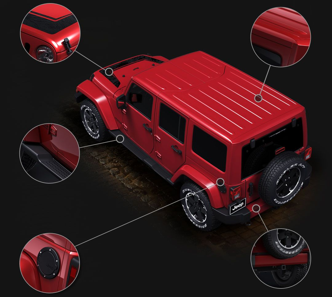 Limited Altitude Edition 2012 Jeep Wrangler Unlimited
