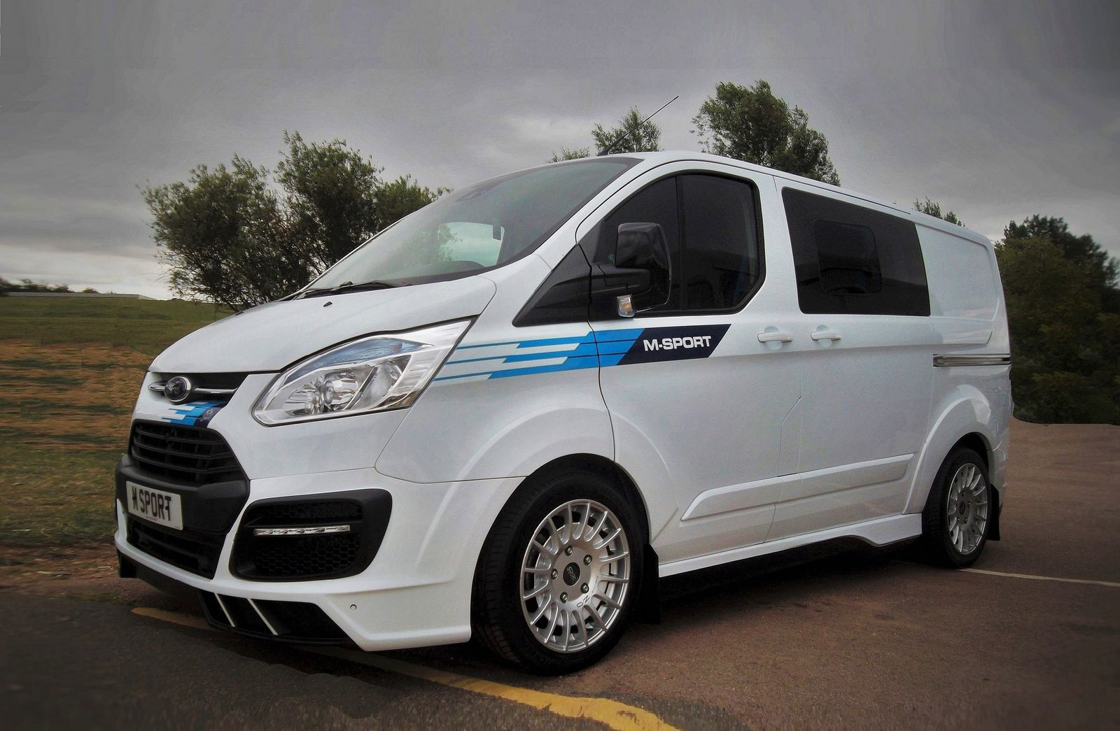 Ford Transit M Sport Limited Edition By Van Sport Ford Transit Vans Ford