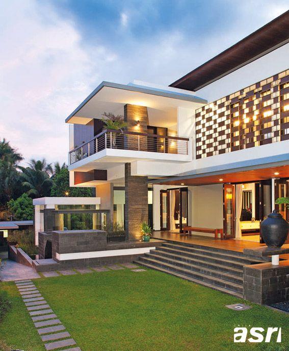 18 Awe Inspiring Modern Home Exterior Designs That Look Casual: Eksotisme-Suburban4
