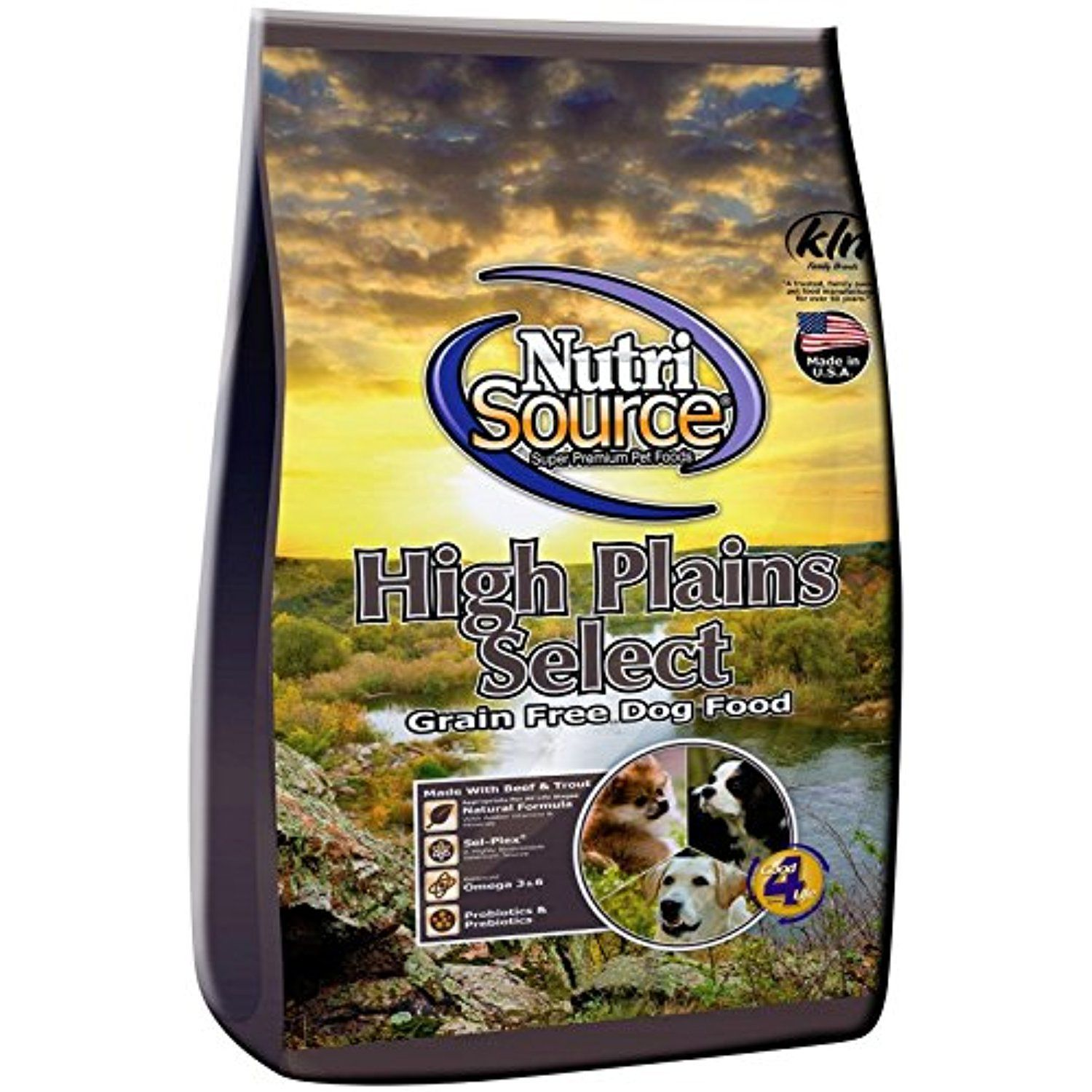 Nutri Source High Plains Select Gf Dog Food 30 Lb You Could