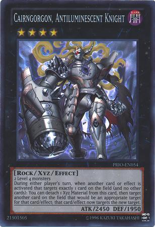 Cairngorgon Antiluminescent Knight Holo Xyz Yugioh Card Yugioh Cards Knight