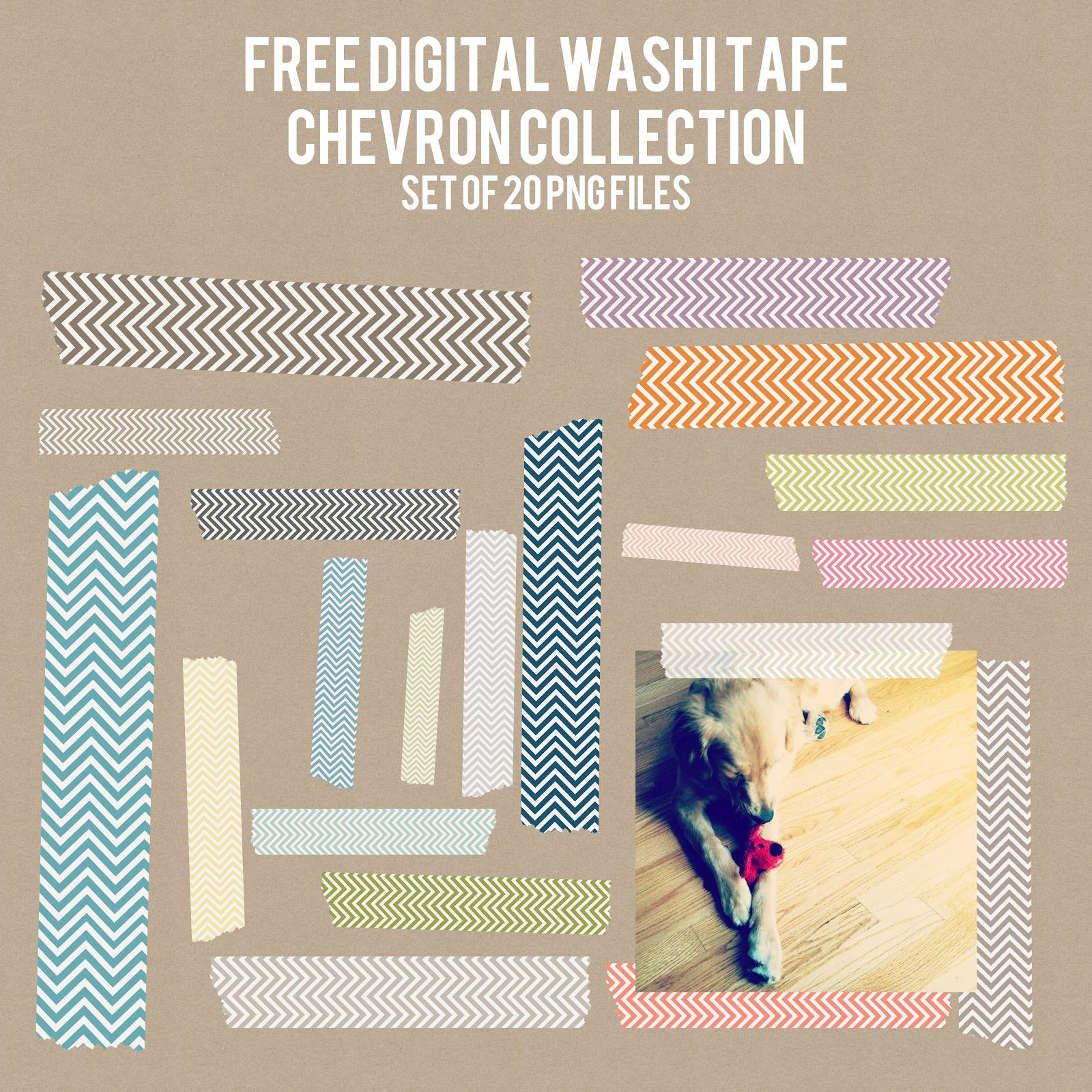Freebie Friday Digital Washi Tape Washi Tape Design Freebie Washi