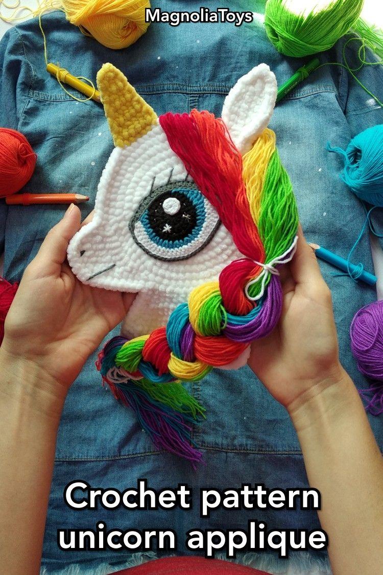 Make It! Challenge #7: Rainbow Donkey | Örme olmayan desenler ... | 1125x750