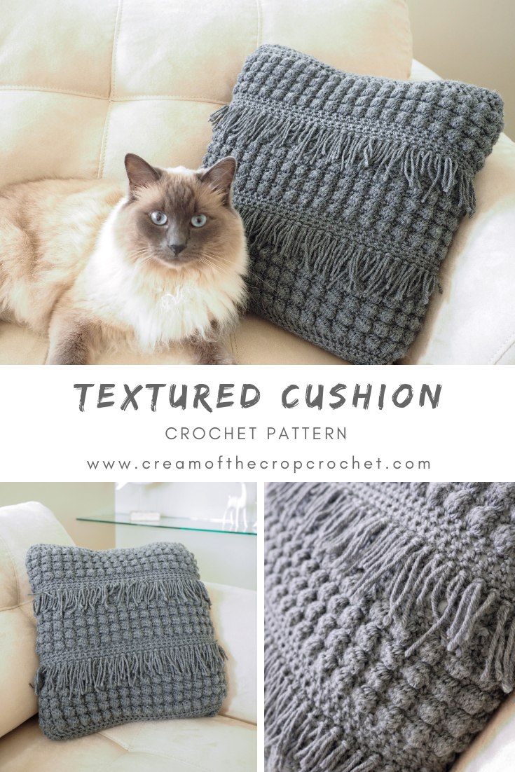Crochet Pattern - Textured Cushion: Hey! In case you need something ...