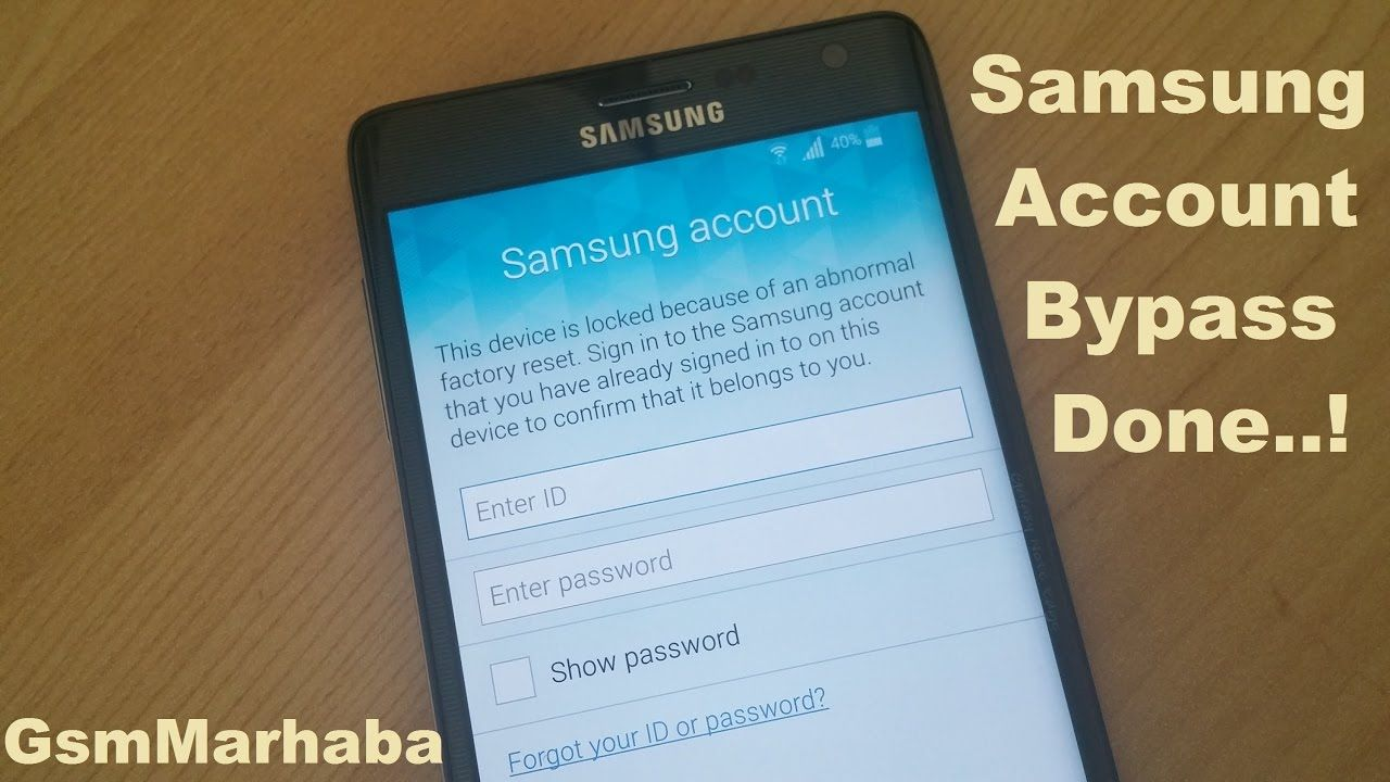 Samsung Account Bypass With OTG | GsmMarhaba | Samsung