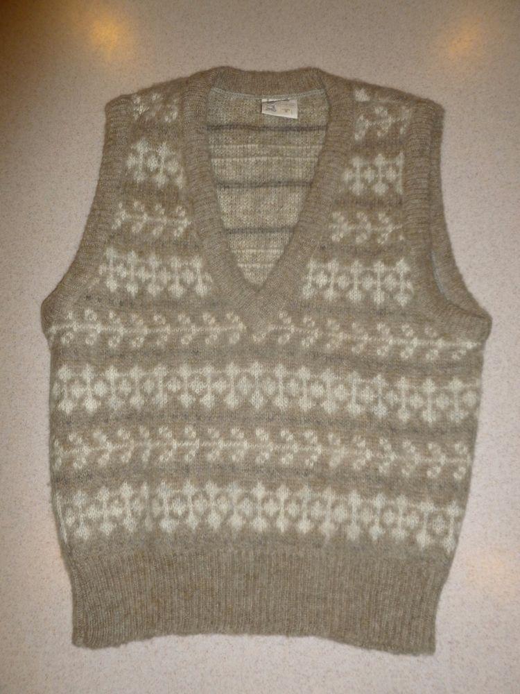 Vintage Hilda Ltd Icewool Iceland Ladies Womens Pullover Sweater