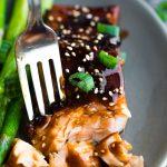 Teriyaki Salmon Glaze (25 minutes) | sweetpeasandsaffron.com