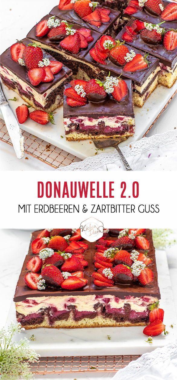 Donauwelle mit Erdbeeren - KüchenDeern
