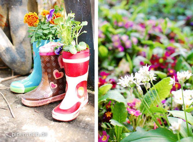 gute zeiten 14: kinder-garten: recycling-idee für alte, Garten und erstellen