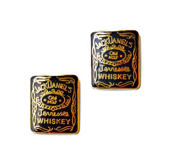 Jack Daniel's R Cufflinks Set Gift Box Included by Mancornas, $35.00