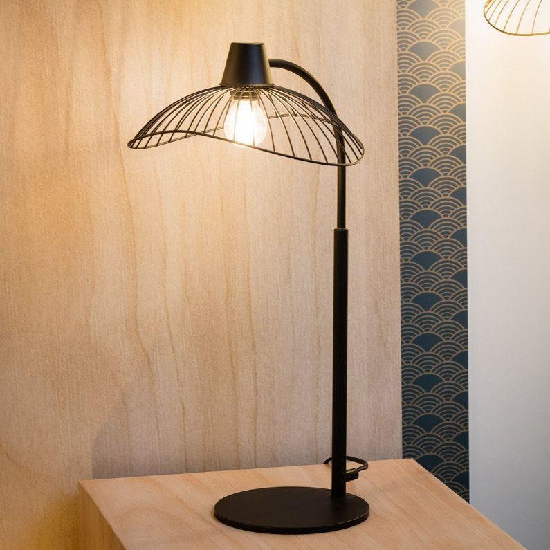 Lampe Design Metal Noir Seynave Kasteli In 2020 Ceiling
