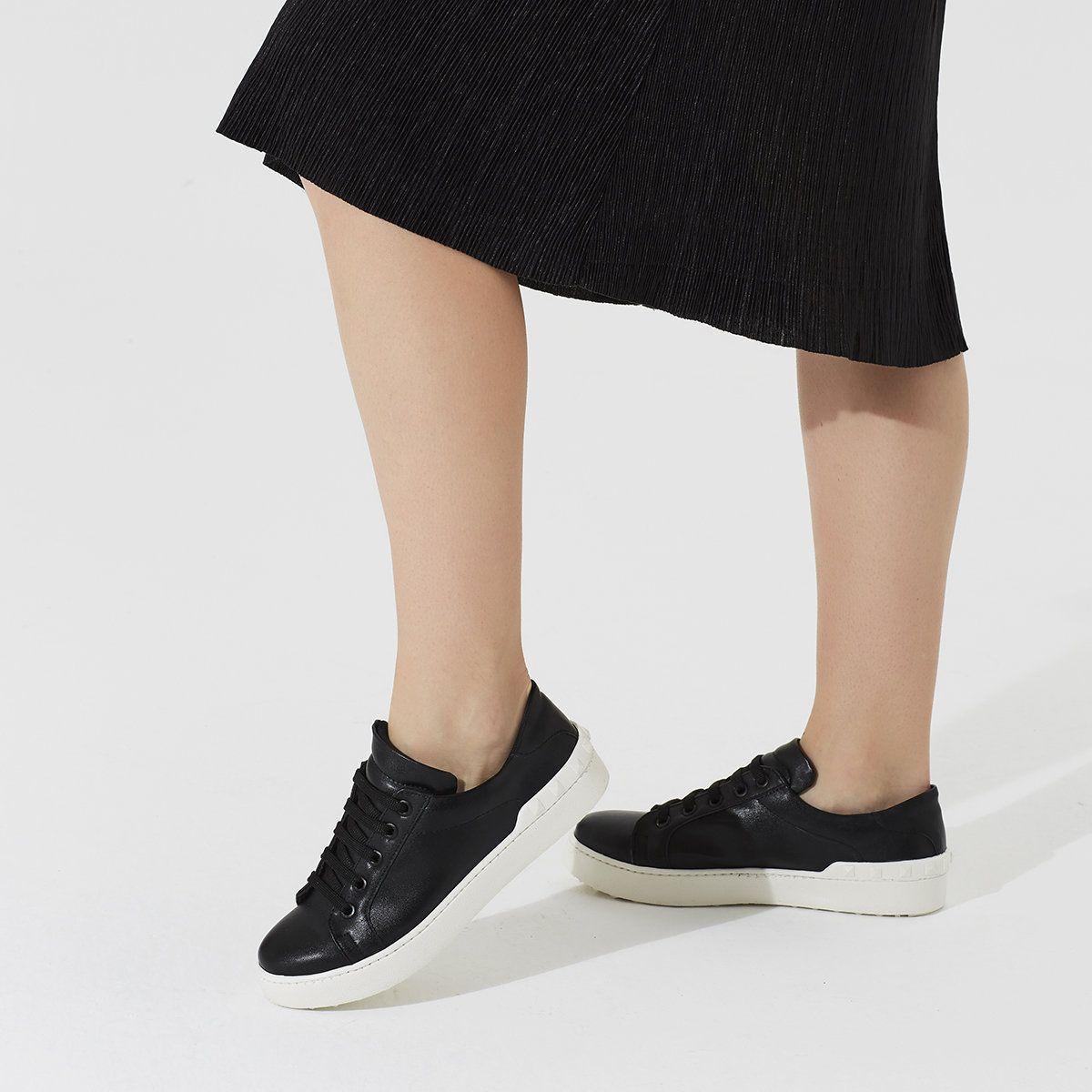 Butigo Beta85z Siyah Kadin Tekstil Ayakkabi 100345585 Flo Sneaker Moda Moda Stilleri
